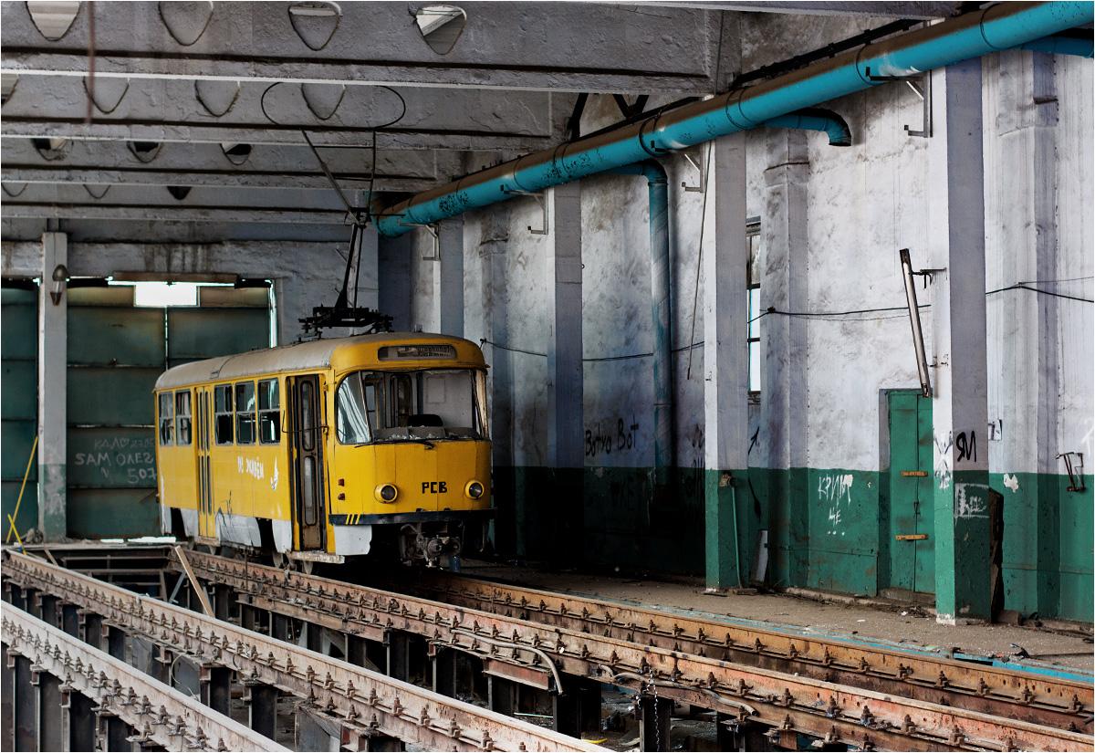 Ta Tatra T3D #PCB pochodzi z niemieckiego Chemnitz, gdzie pracowała do 2002 roku