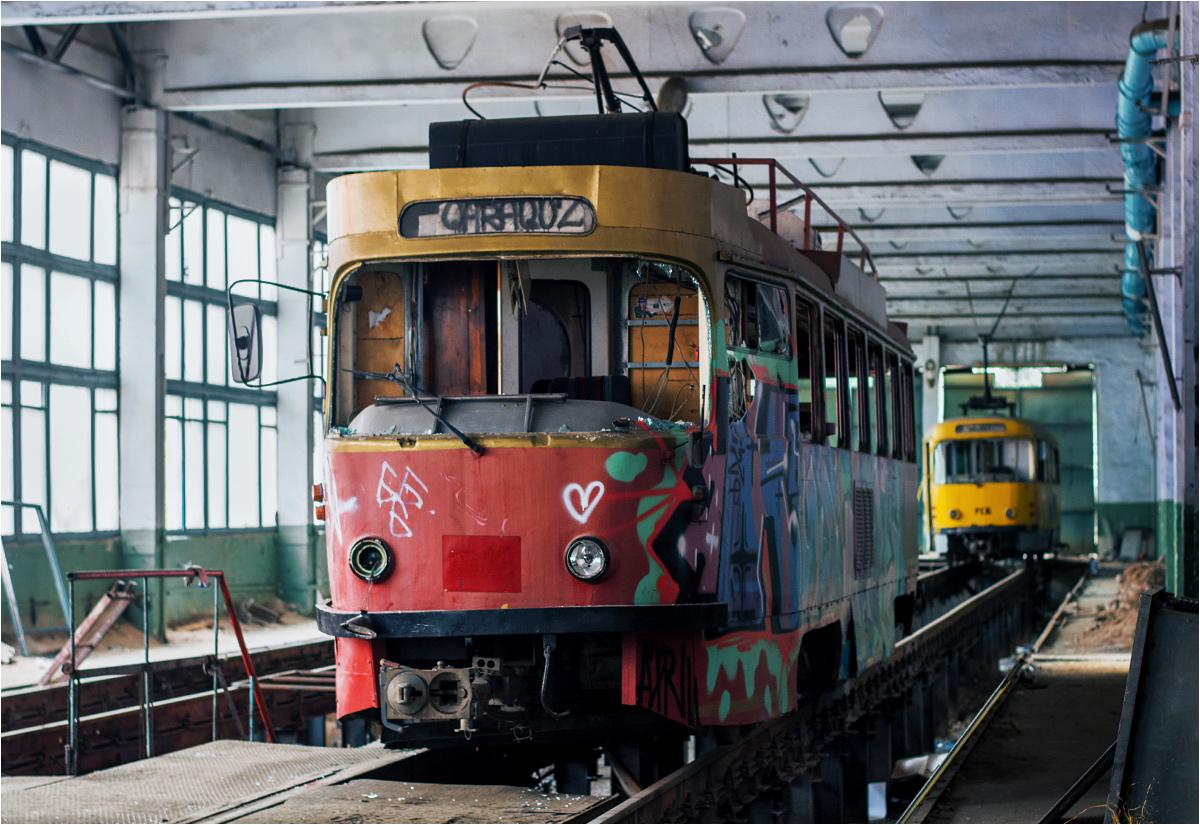 Wagon #1040 również wykupiono z Chemnitz. Rok produkcji - 1976