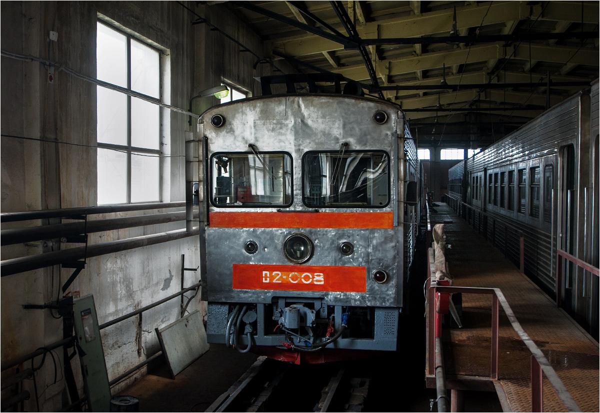To jedne z ostatnich zdjęć japońskiego wagonu motorowego serii D2