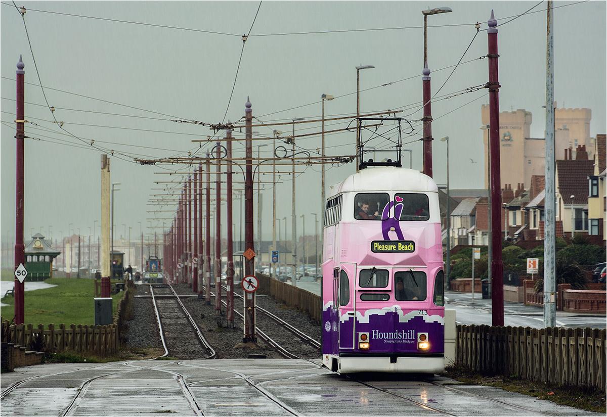 Trasa tramwaju przebiega niemal nad samym morzem. Ale nie to najbardziej przykuwa uwagę odwiedzających...