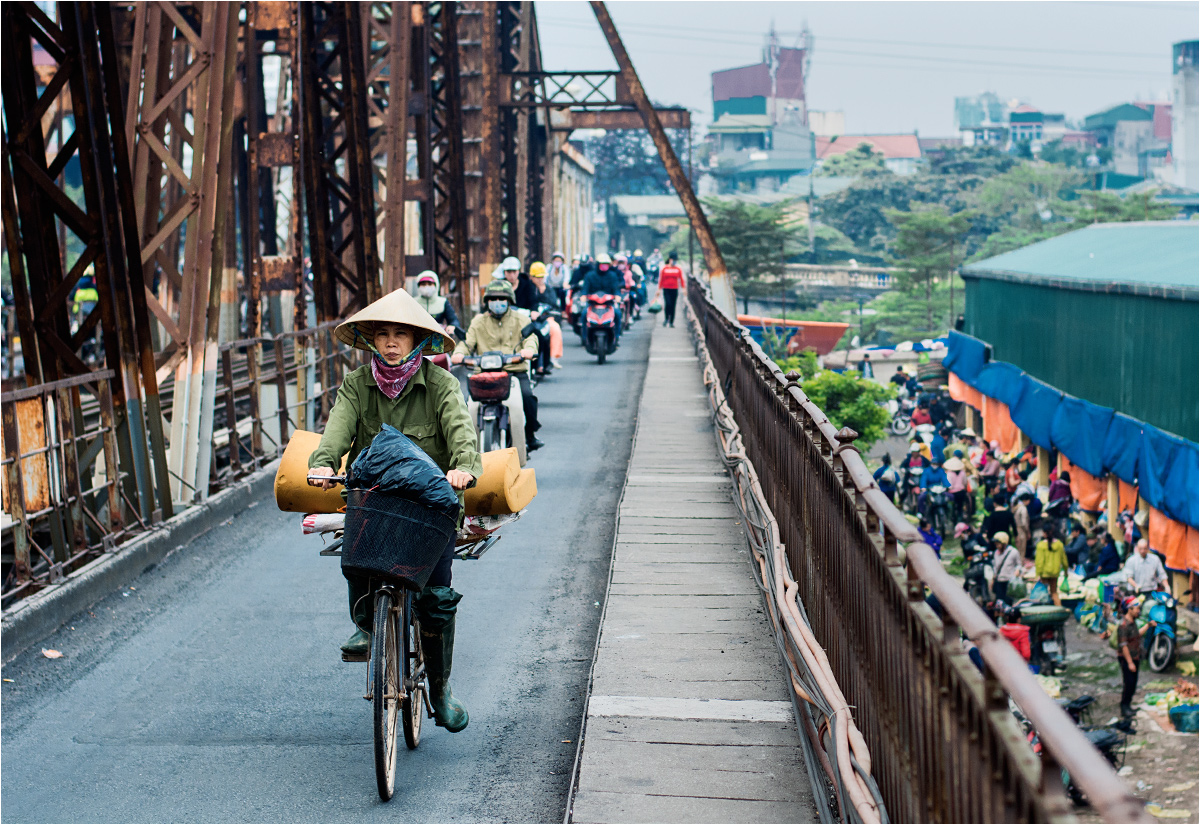 There are nine million bicycles in Hanoi