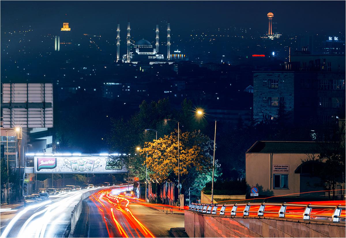 Ankara w nocy