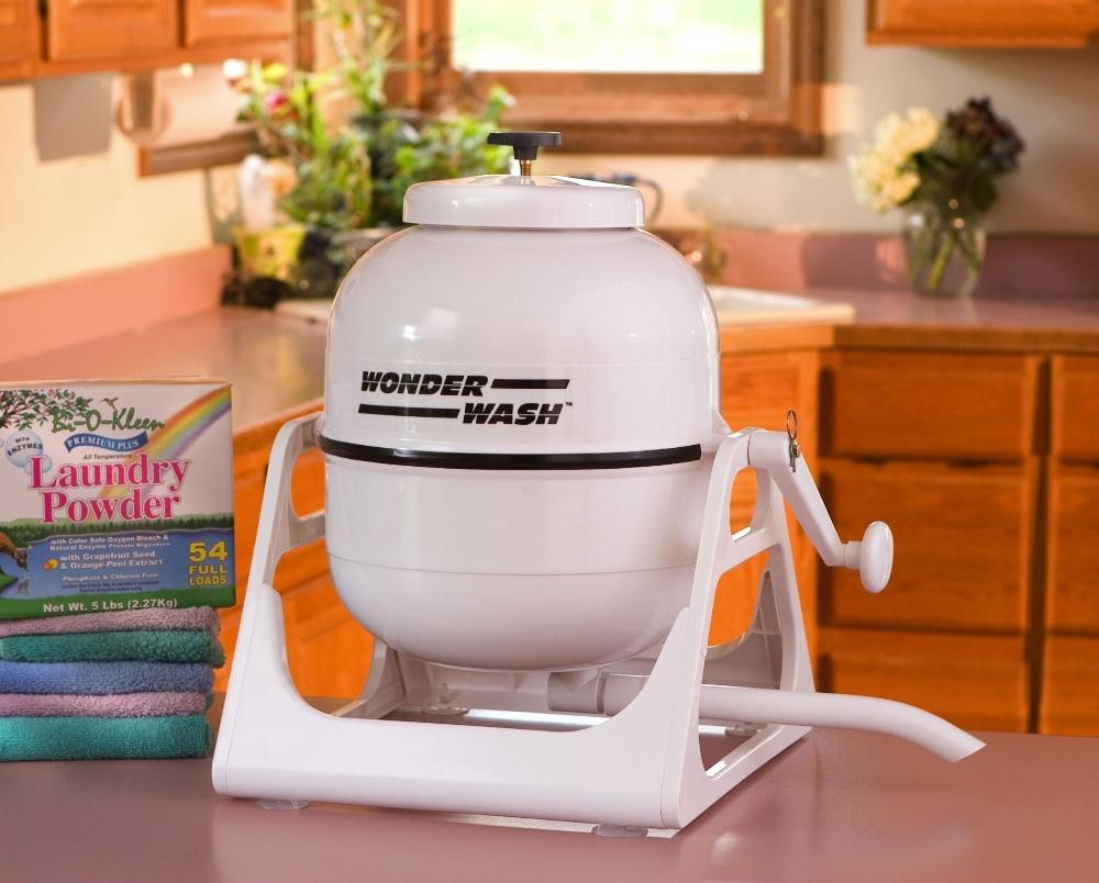 Laundry Alternative Wonderwash - ręczne urządzenie do prania, które zdobywa popularność w trakcie epidemii