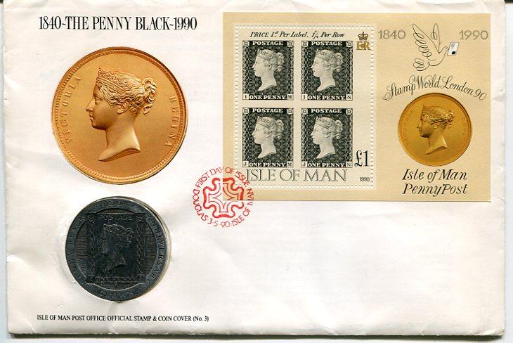 Black Penny z królową Wiktorią. Fot. Regionalne Muzeum Poczty w Płocku