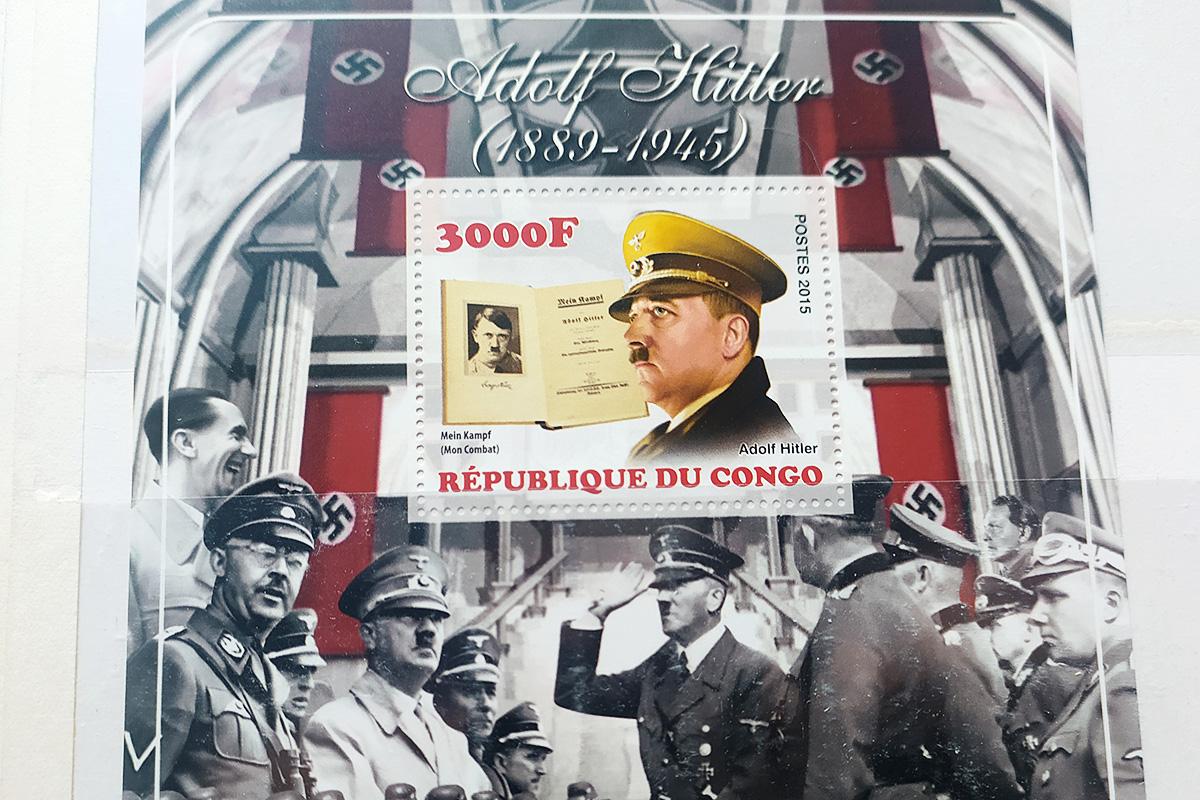 Kongo upamiętnia Hitlera. Fot. ze zbiorów Jana Mieszka Parszewskiego