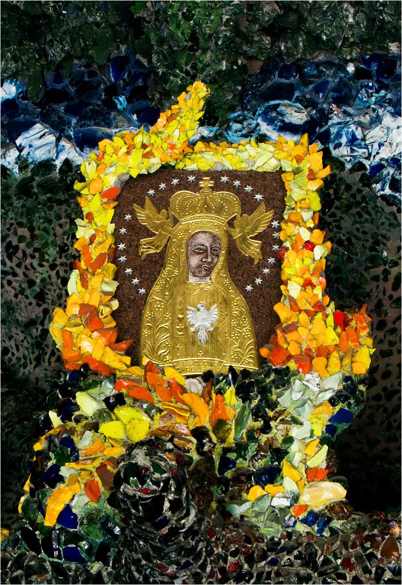 Ten obraz nijak nie przypomina oryginalnego wizerunku Matki Boskiej Licheńskiej