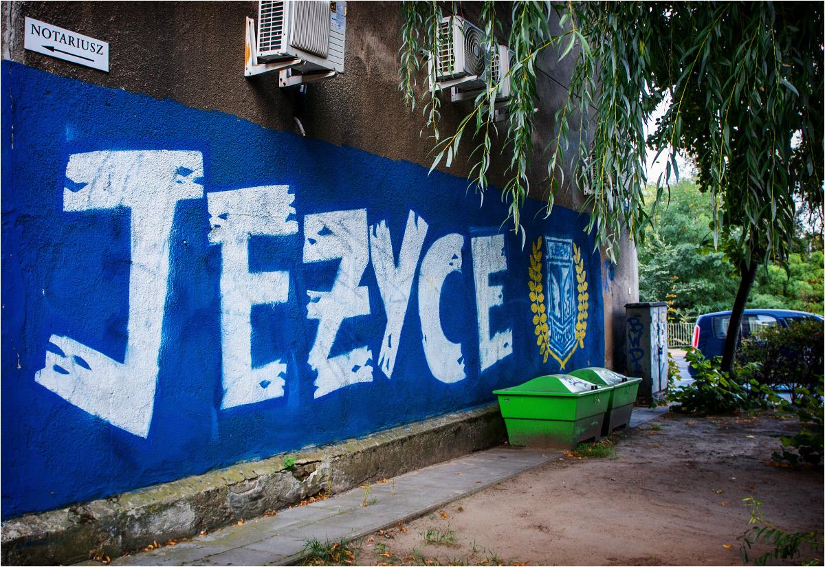 Dziadek Borejko nie byłby zadowolony z tego murala, który wyrósł zaraz za jego kamienicą