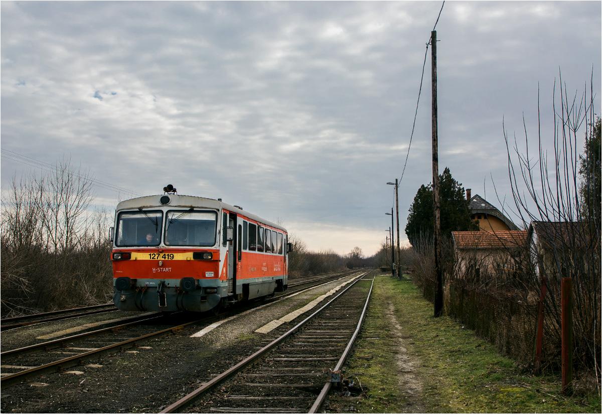 Stacja końcowa. Dalej jest już Rumunia