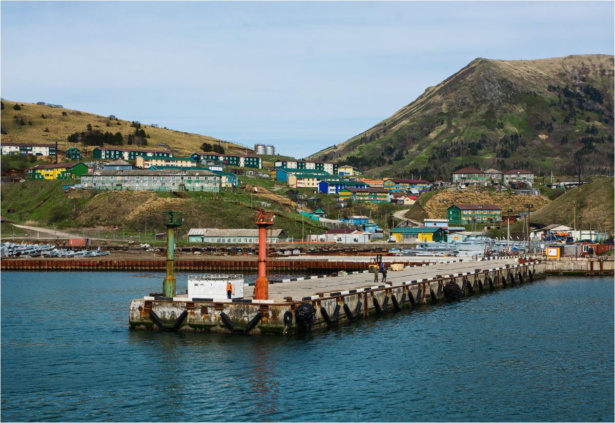 Małokurilskoje to największa wieś na wyspie