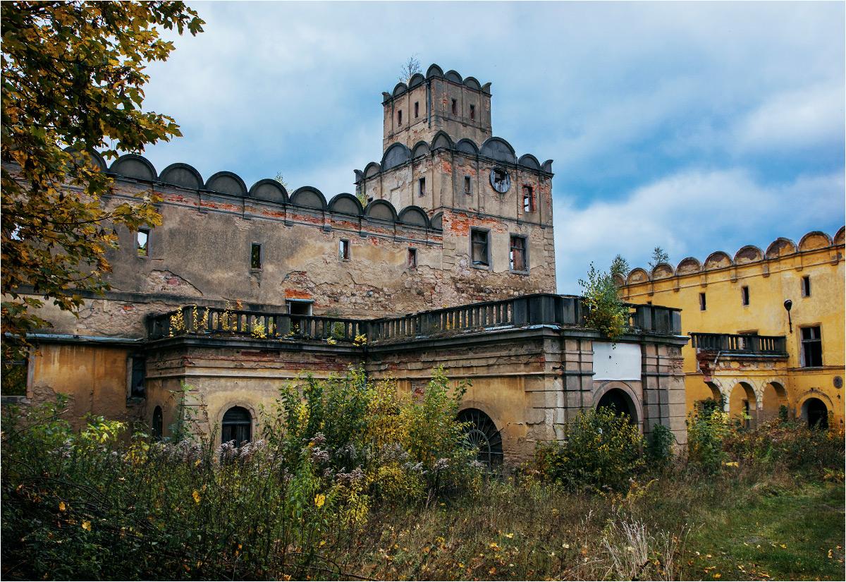 Przed wejściem do zamku