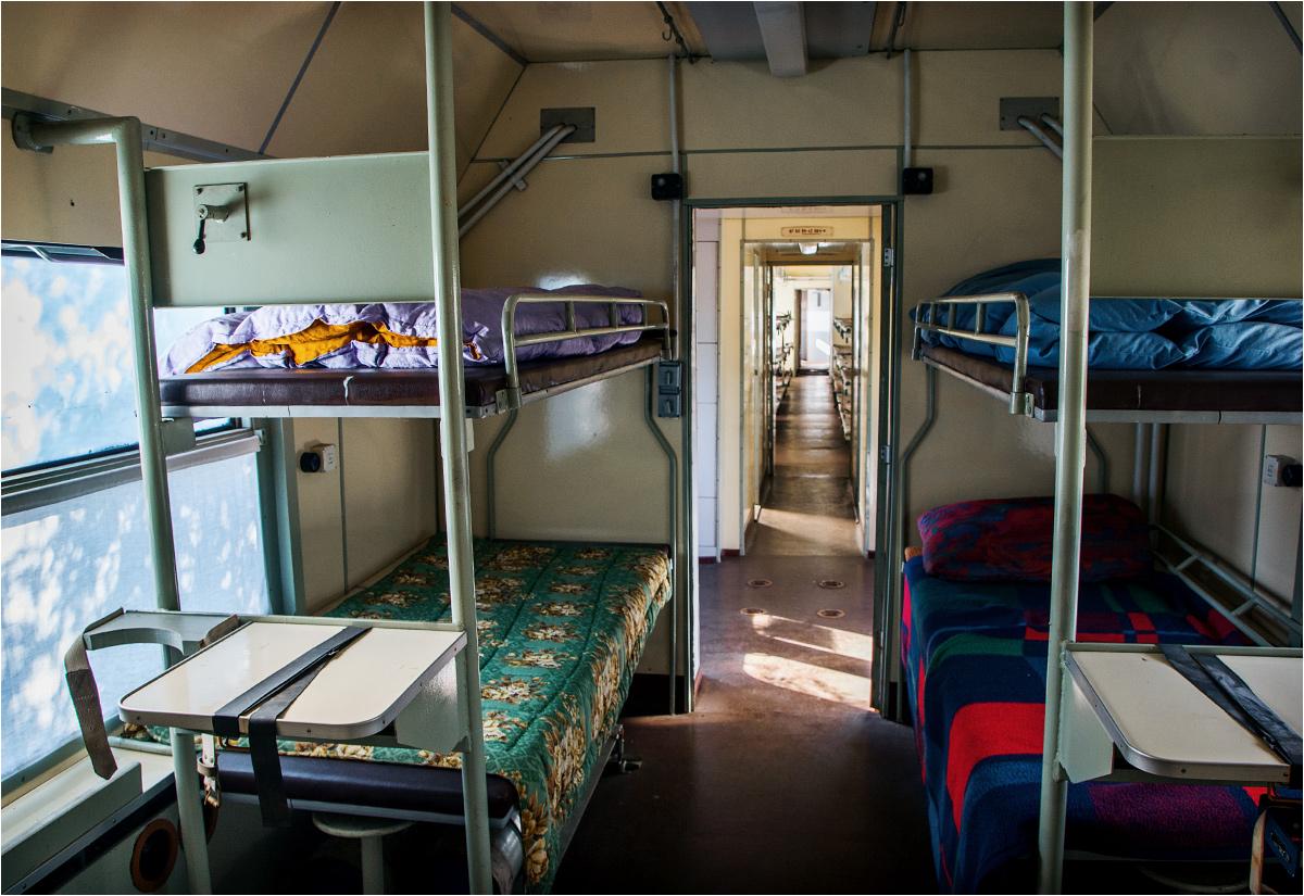 W drugiej części wagonu znajduje się sala intensywnej terapii z doprowadzoną instalacją tlenową