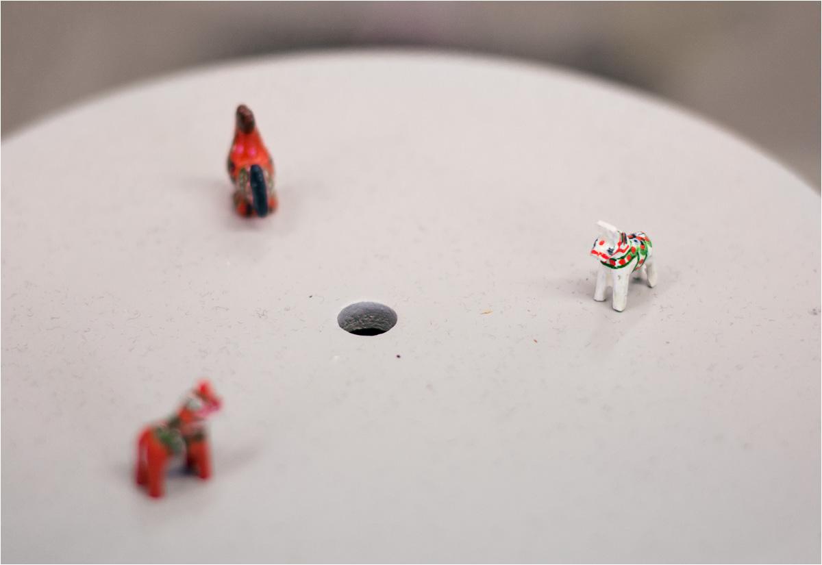 Miniaturowe koniki z biurka Kerstin Reuterborg