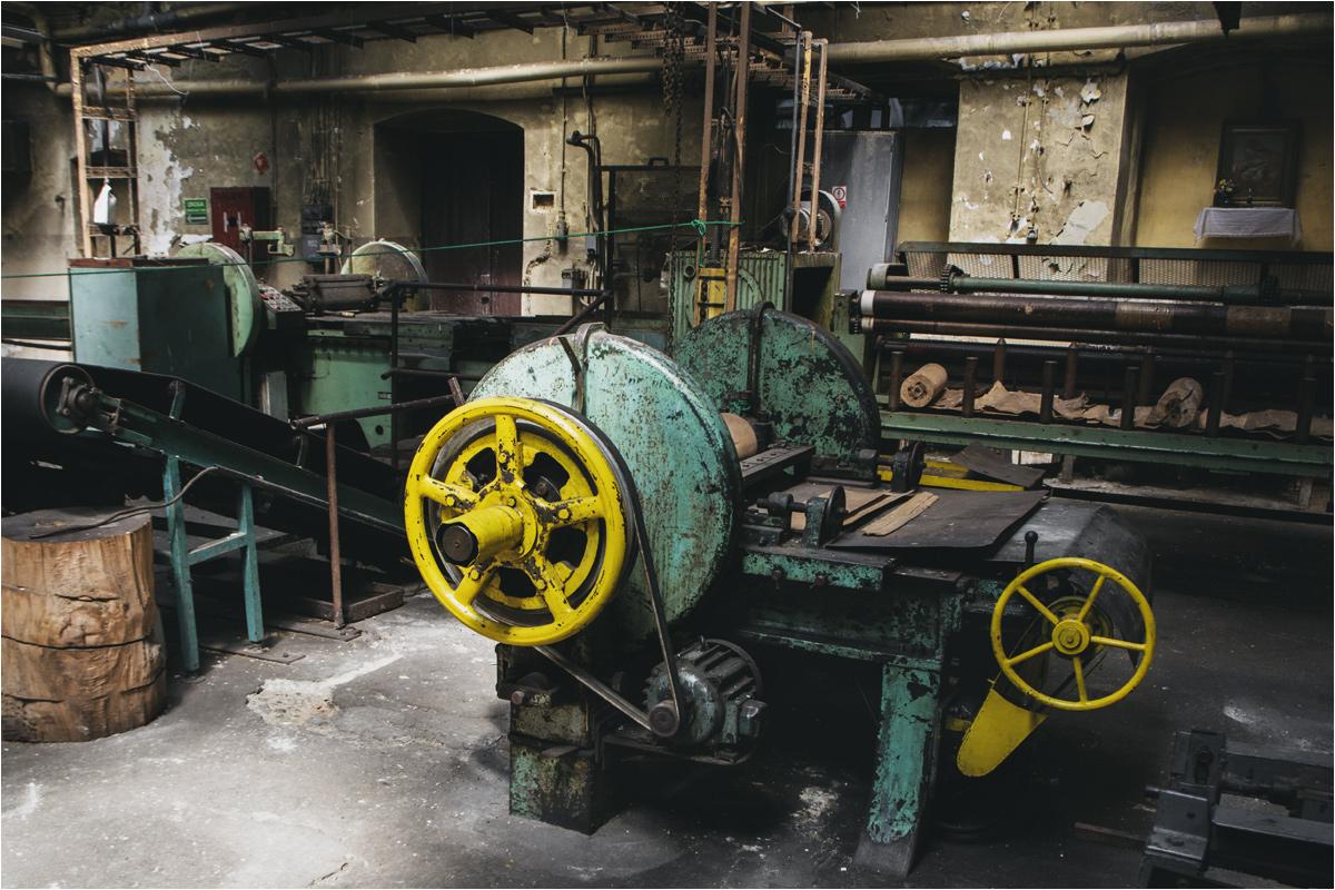 """W halach muzeum zapałek w Częstochowie panuje atmosfera prawdziwej fabryki, a nie """"ugrzecznionej"""" ścieżki turystycznej"""