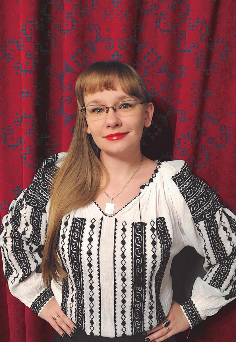"""Agnieszka Krawczyk, autorka książki """"Rumunia. Albastru, ciorba i wino"""""""